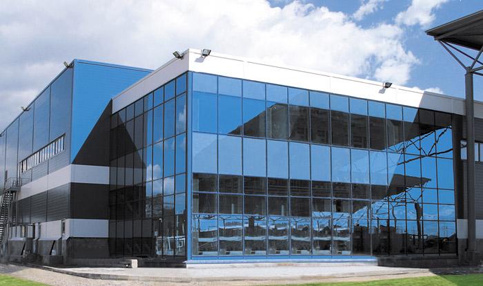 Алюминиевые фасады фото